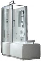 Ванна акриловая CRW EA0001L со встроенной г/м кабиной