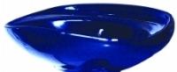 Умывальник АРДО с отверстием под смеситель синий