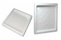 Керамический душевой поддон Vidima - квадрат 80 W830301 (W856801)