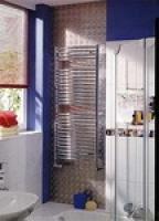 Полотенцесушитель на горячей воде Zehnder JAB-180-050 металлик