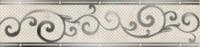 Оникс Настенная плитка Оникс бордюр бежевый