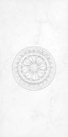 Цезарь Настенная плитка Цезарь декор белый