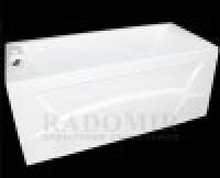 Ванна акриловая с гидромассажем Radomir Радомир Онтарио стандарт Chrome 15070