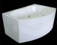Ванна акриловая с гидромассажем Radomir Радомир Дейтон стандарт Chrome правая 150105