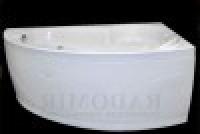Ванна акриловая с гидромассажем Radomir Радомир Лоуэль стандарт chrome правая 168120