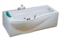 Ванна акриловая с гидромассажем CRW CCW-1700-2L