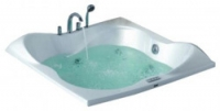 Ванна акриловая с гидромассажем Wisemaker WK-B15