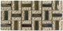 S- MOS GHT50(L)  (1.5x4.8) METAL+BEIGE GLASS