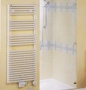 Полотенцесушитель на горячей воде Zehnder LF-180-075 белый